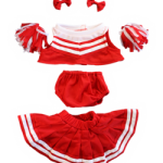 teddy bear cheerleader
