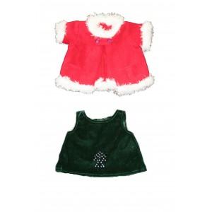 Christmas bear dress