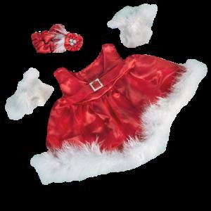 teddy Christmas dress