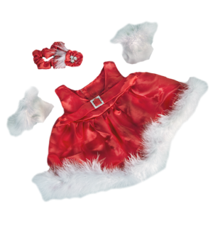 teddy Christmas dress