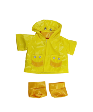 duck raincoat