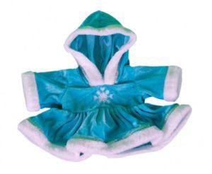 Blue Snow Dress